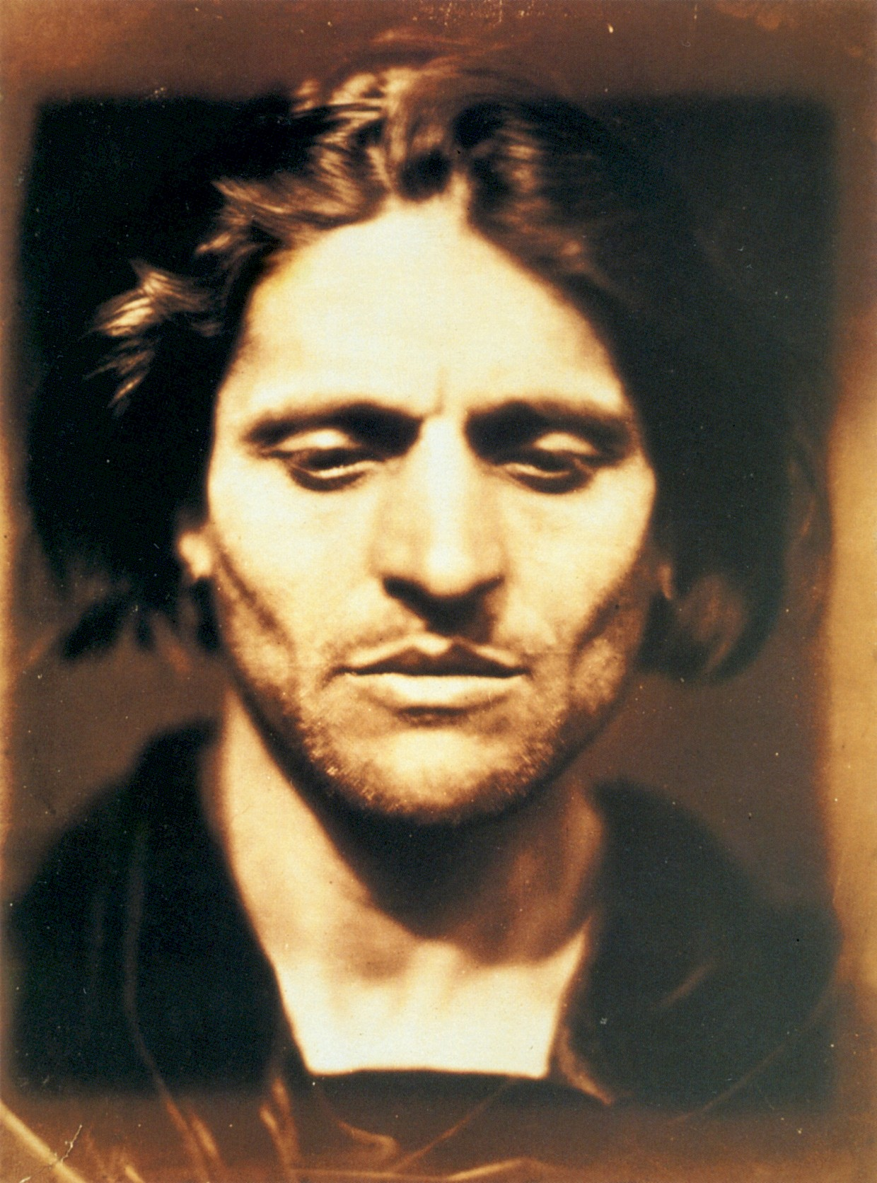 Iago, Study from an Italian (1867) by Julia Margaret Cameron