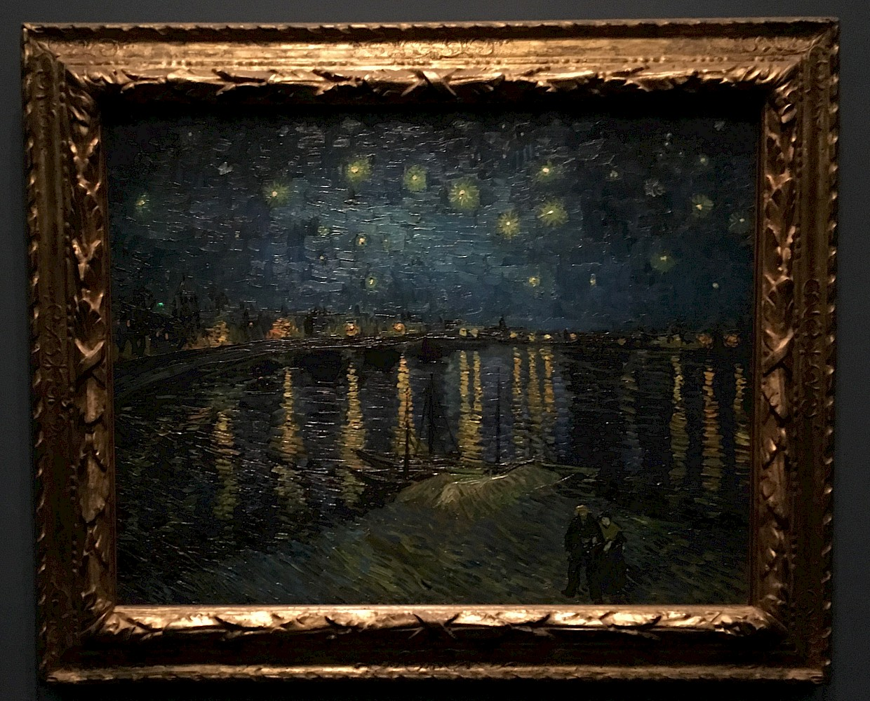 Starry Night Over the Rhine, Vincent Van Gogh