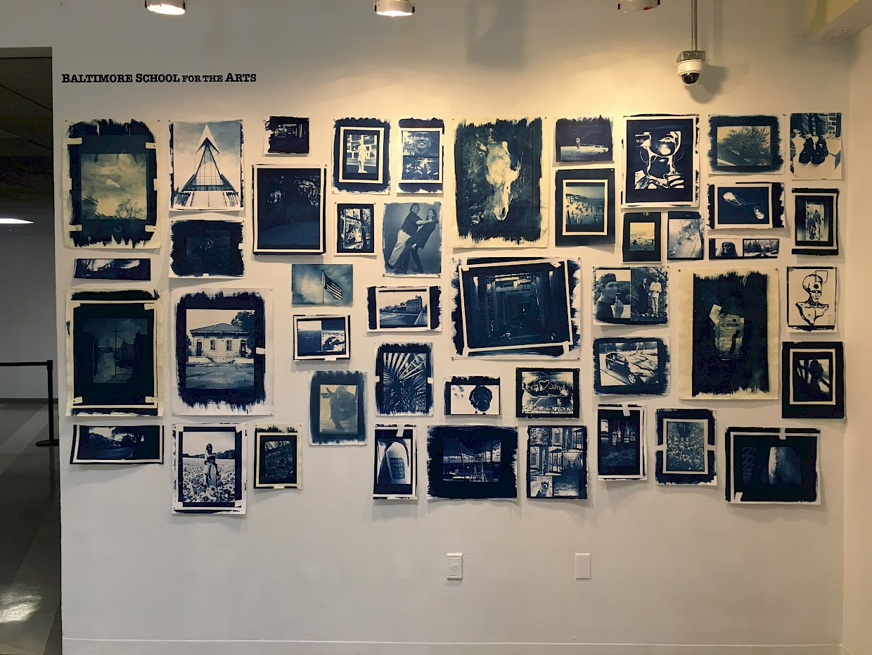 Cyanotype Demo & Exhibit